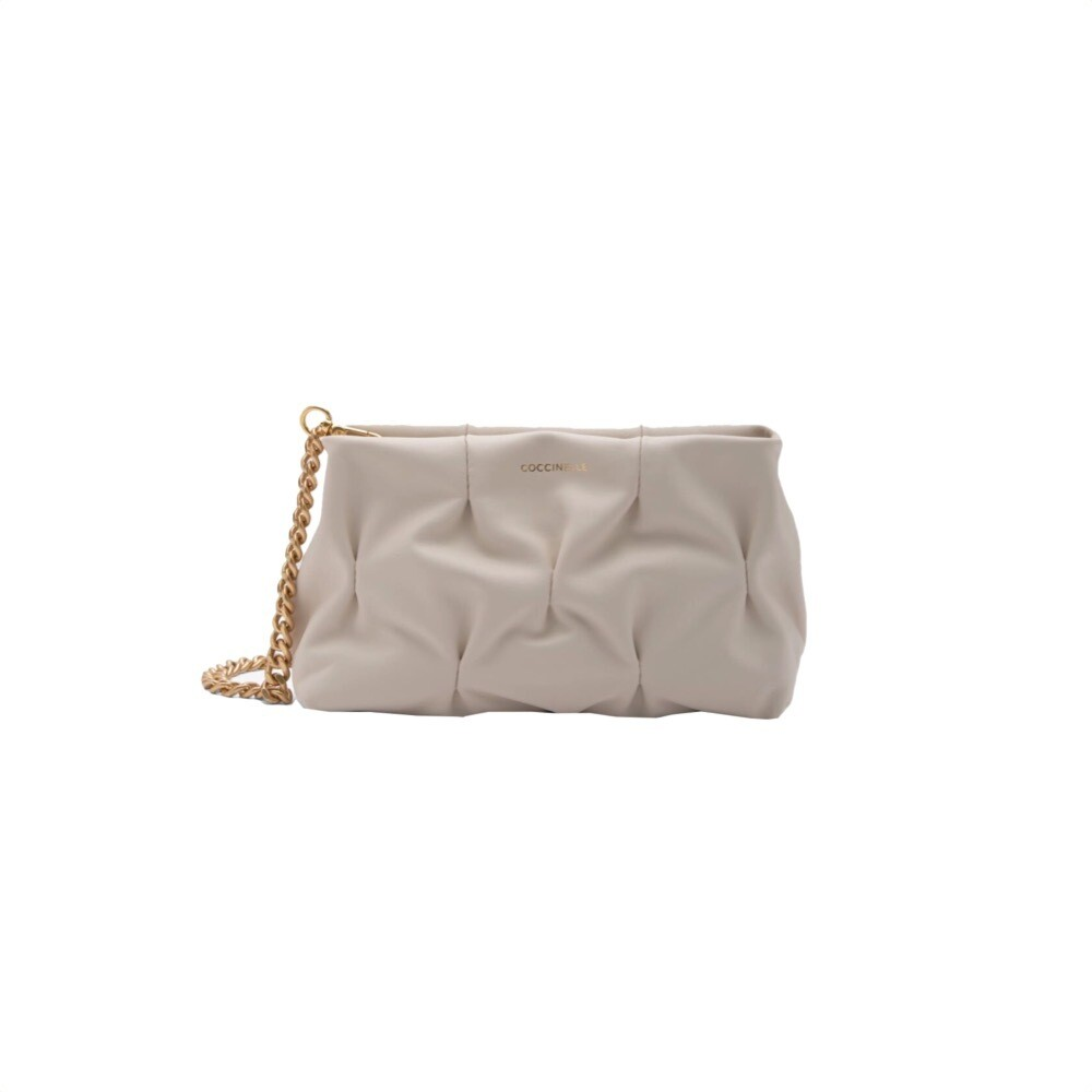 COCCINELLE - Ophelie Goodie - Lambskin White