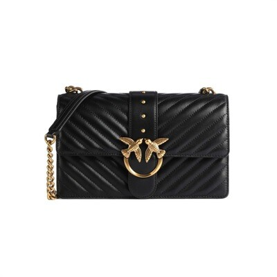 PINKO - Love Classic Icon V Quilt - Black