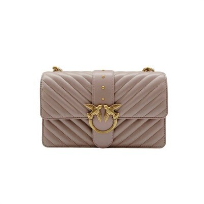 PINKO - Love Classic Icon V Quilt - Taupe