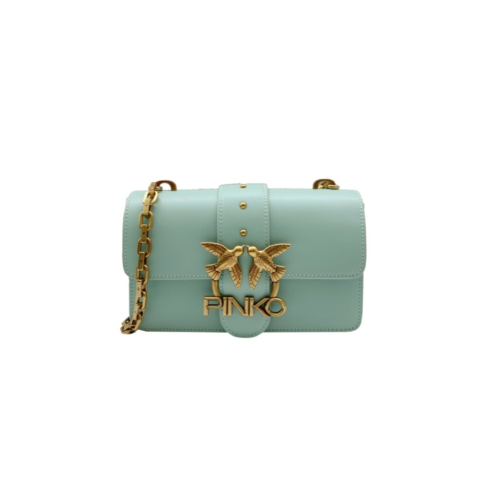 PINKO - Mini Love Icon Simply 5 - Aqua Green