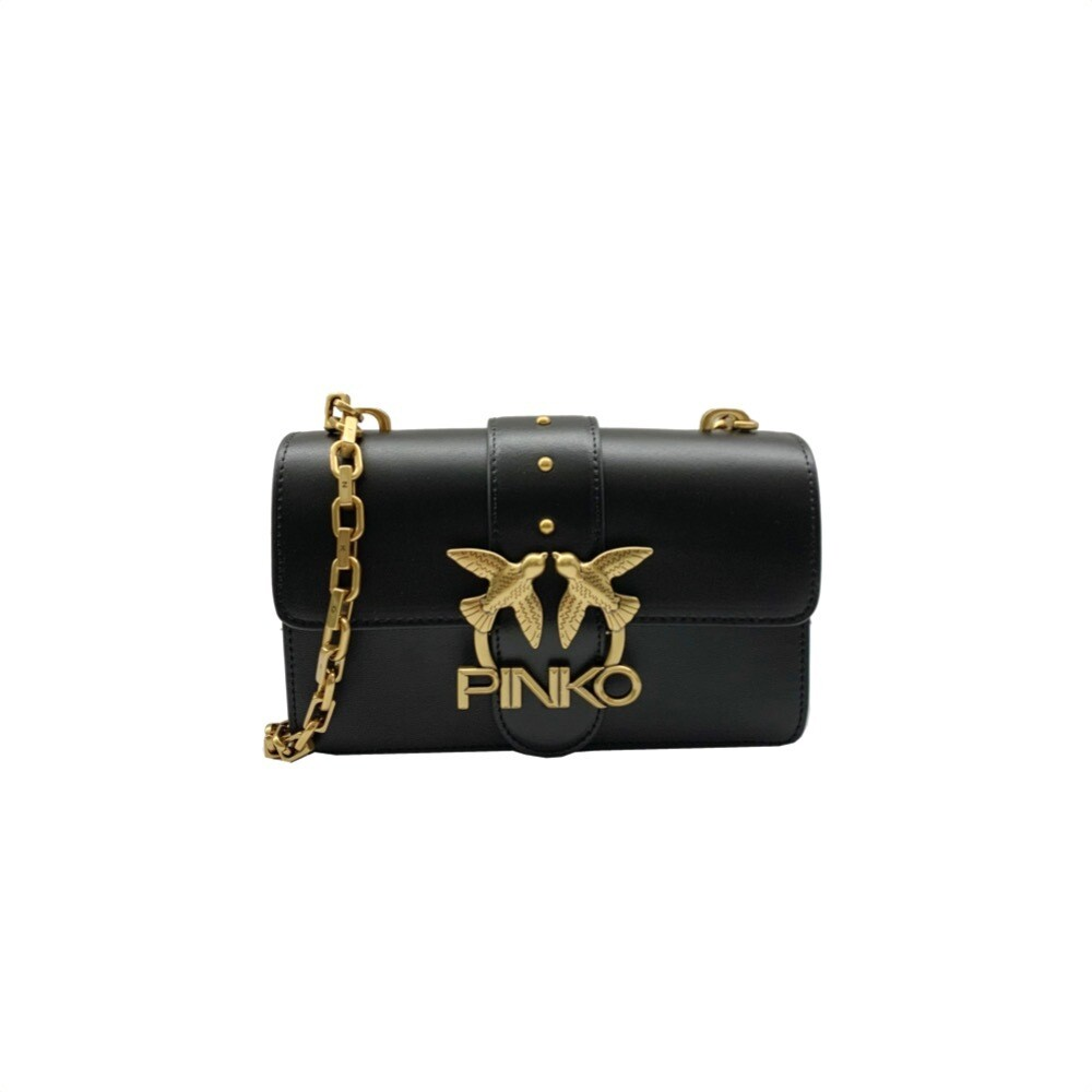 PINKO - Mini Love Icon Simply 5 - Black