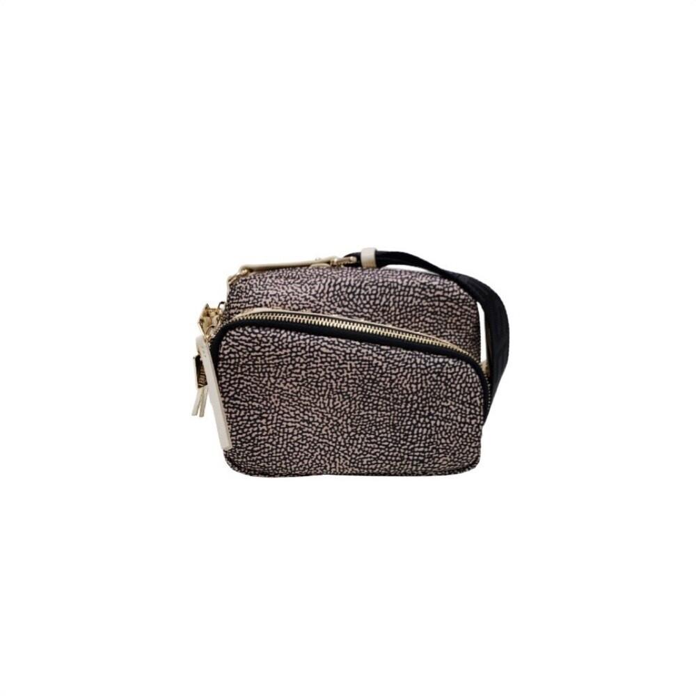 BORBONESE - Metro Camera Bag Small - OP Natural/Beige