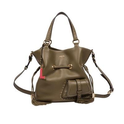 LANCEL - Premier Flirt Bucket Bag M - Kaki