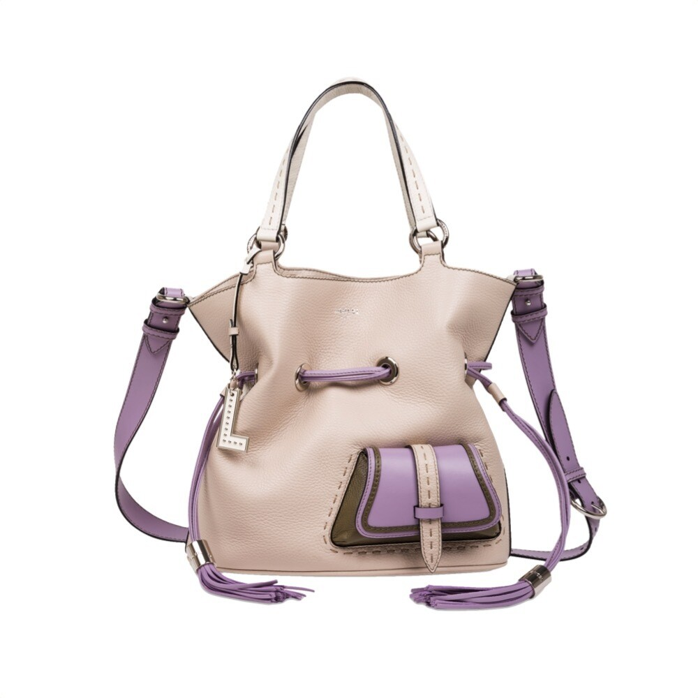 LANCEL - Premier Flirt Bucket Bag M - Multicolor Stone