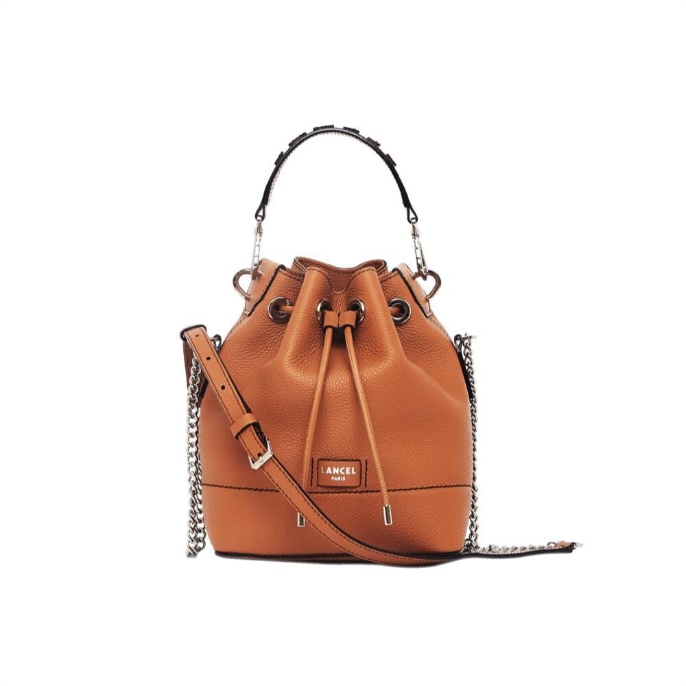 LANCEL - Ninon Bucket Bag S - Camel