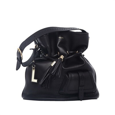 LANCEL - Premier Flirt Bucket Bag L - Black
