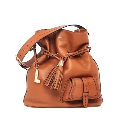 LANCEL - Premier Flirt Bucket Bag L - Camel