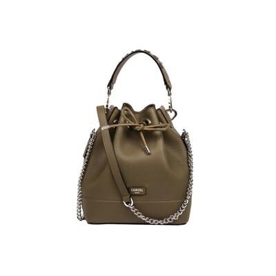 LANCEL - Ninon Bucket Bag S - Kaki