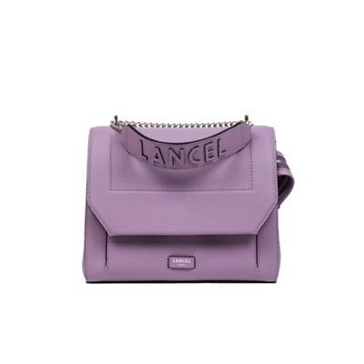 LANCEL - Ninon Flap Bag M - Mauve