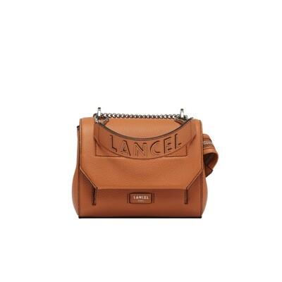 LANCEL - Ninon Flap Bag S - Camel