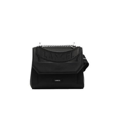 LANCEL - Ninon Flap Bag S - Black