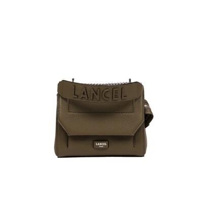 LANCEL - Ninon Flap Bag S - Kaki