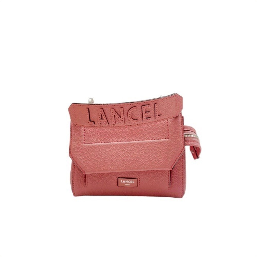 LANCEL - Ninon Flap Bag S - Pink