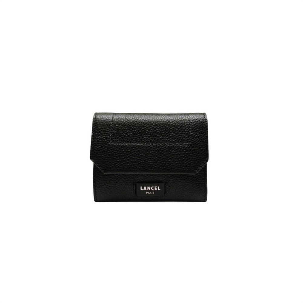 LANCEL - Compact M Wallet - Black
