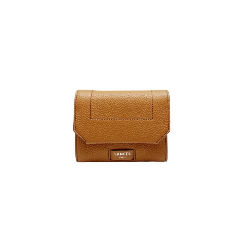 LANCEL - Compact M Wallet - Camel