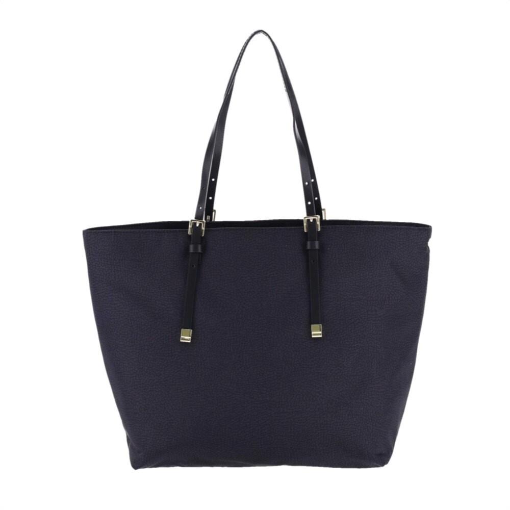 BORBONESE - Shopping Bag Large - Black
