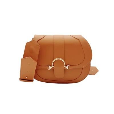 BORBONESE - 110 Bag Medium - Brown