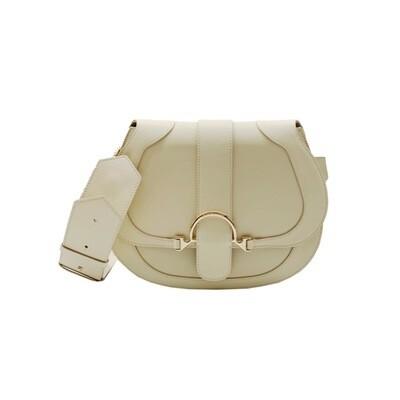 BORBONESE - 110 Bag Medium - Beige