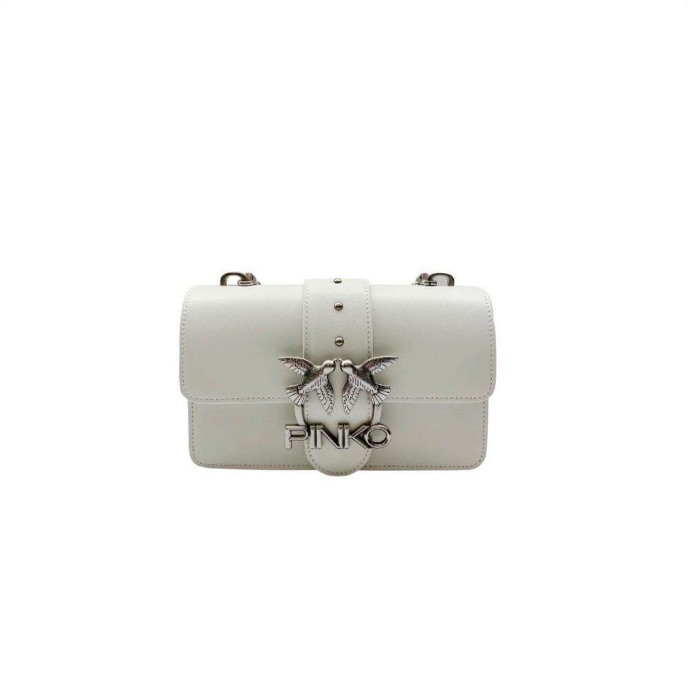 PINKO - Love Mini Icon Simply 8 - White/Silver