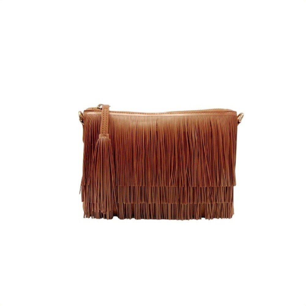 GUM - Numbers Clutch Fringe M - Bronze