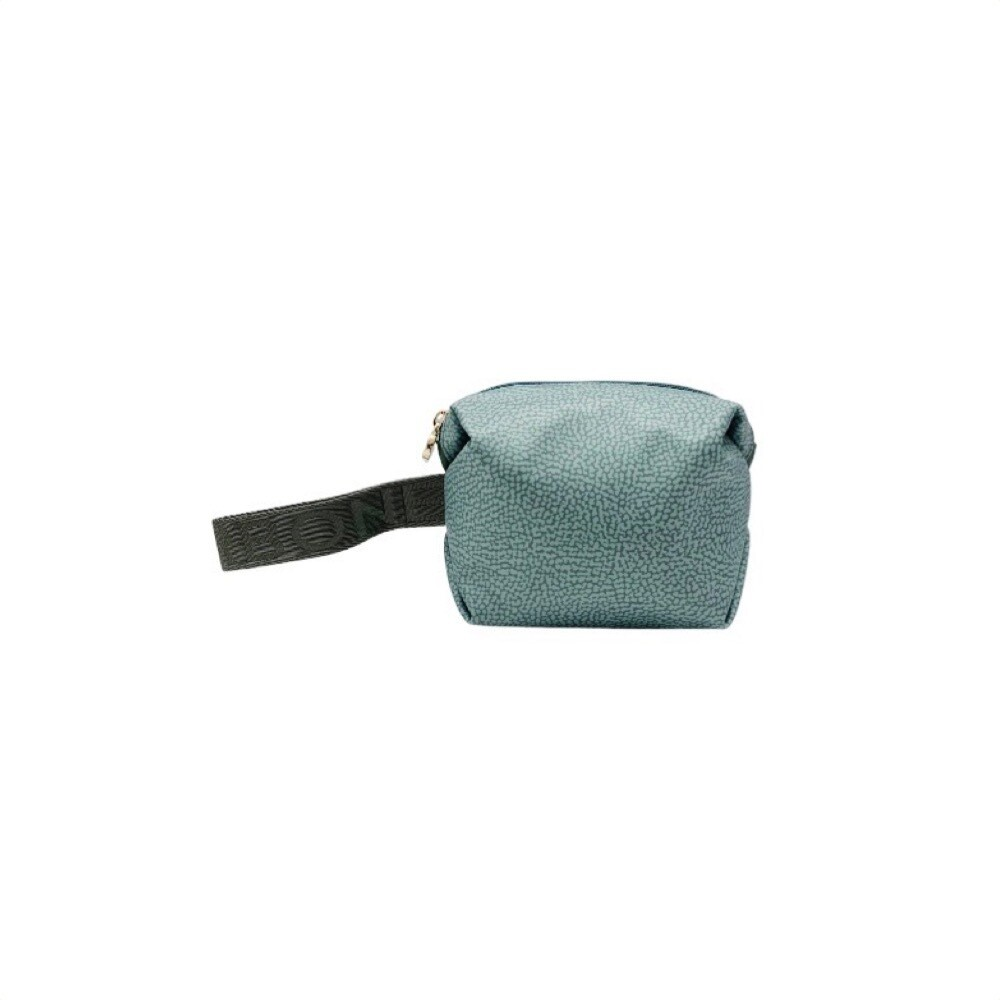 BORBONESE - Beauty Case in Nylon Riciclato OP - Pastel Green
