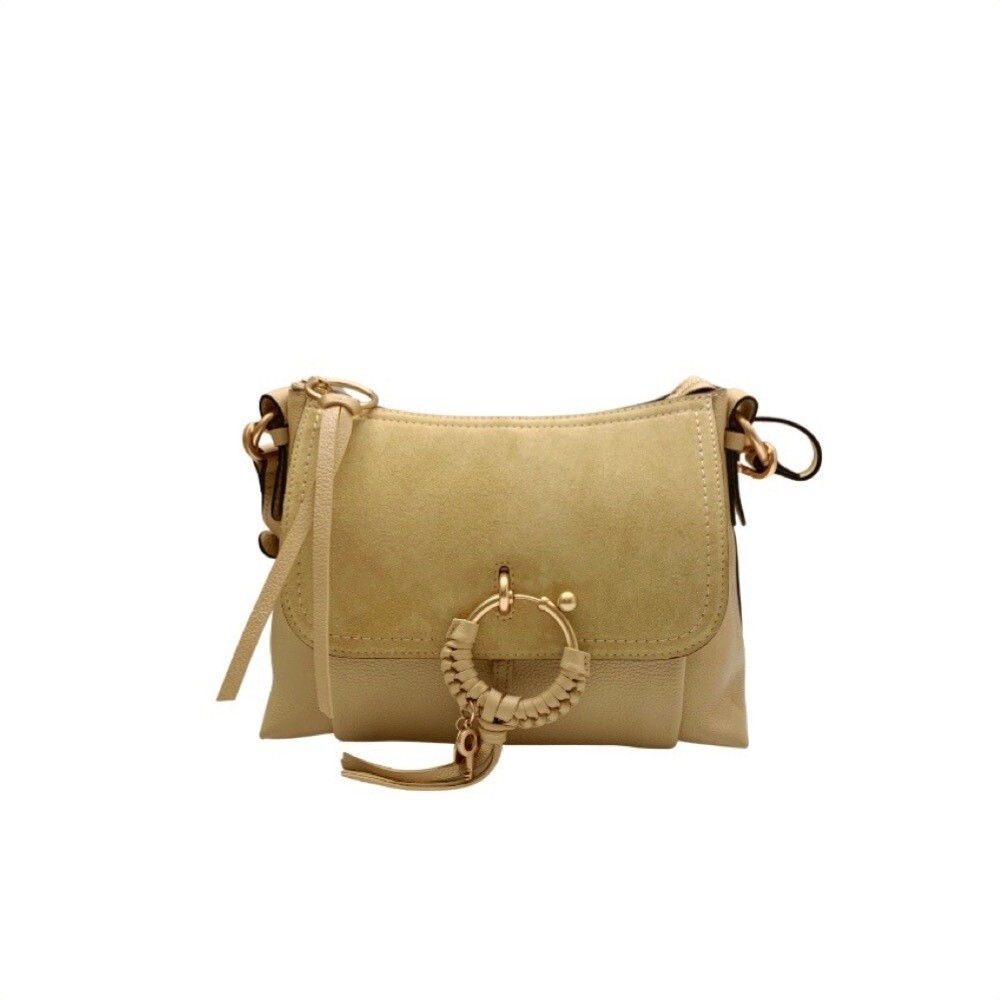 SEE BY CHLOÉ - Joan Small Shoulder Bag - Seed Brown