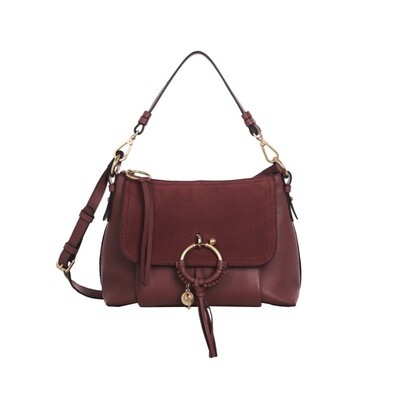 SEE BY CHLOÉ - Joan Small Shoulder Bag - Fawn Brown