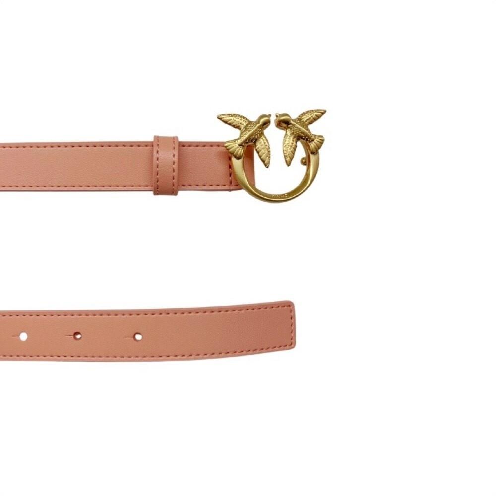 PINKO - Berry Small Simply 12 cintura vita alta - Pink