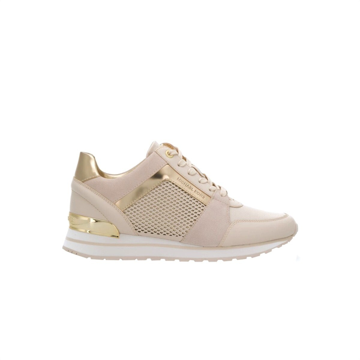 MICHAEL KORS - Billie Trainer - Light Cream
