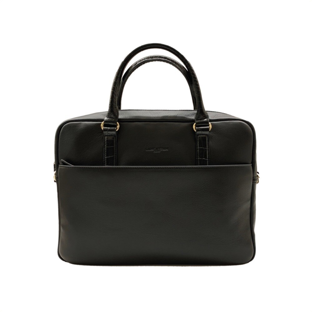 LANCASTER - Ana Large Handle Bag - Noir
