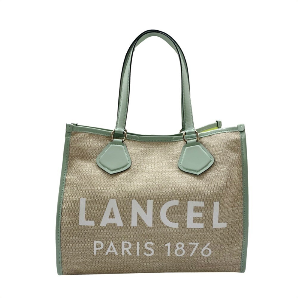 LANCEL - Cabas Summer Tote L - Natural/Maldives