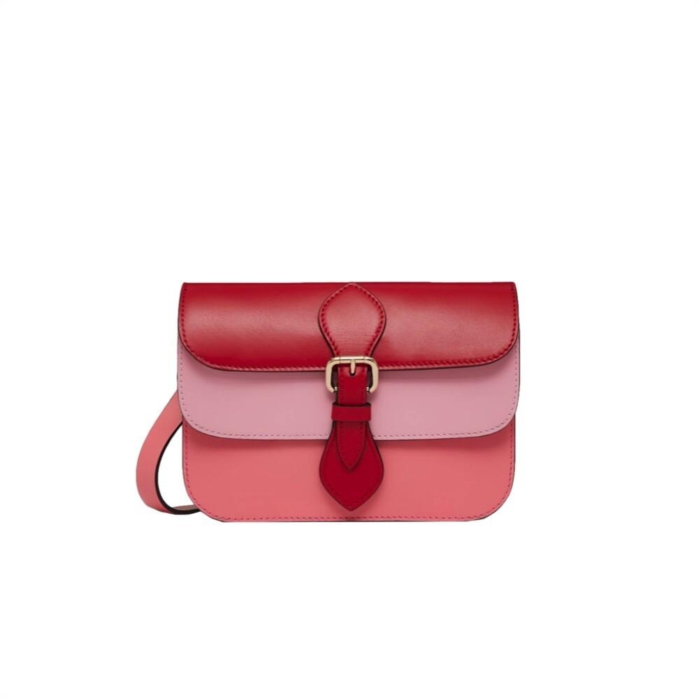 RED VALENTINO - Double Veil Pochette - Cherry/Sweet Rose