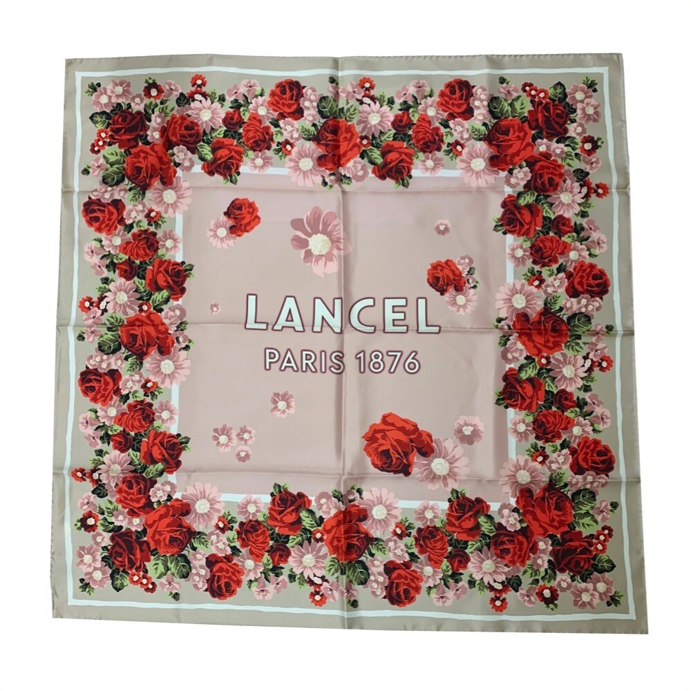 LANCEL - Foulard 90x90 - Multi Blossom