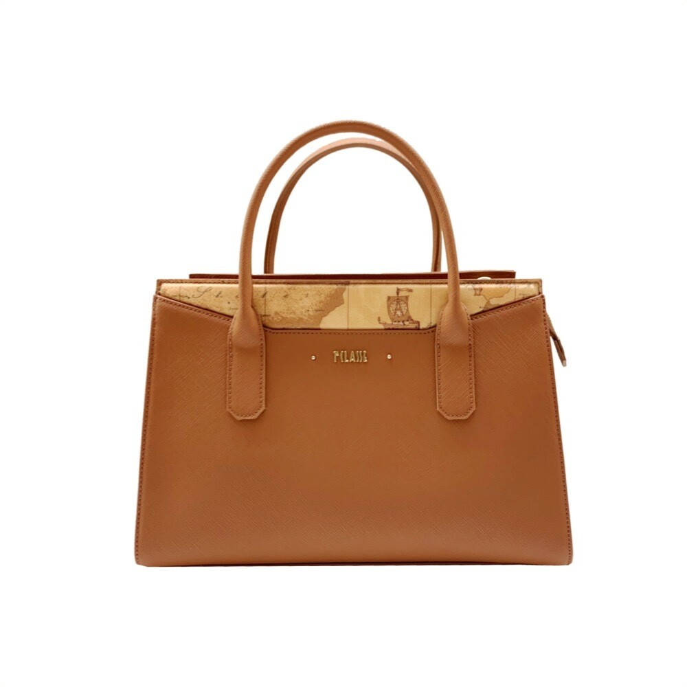 ALVIERO MARTINI - Star City Borsa 3 tasche media - Leather Brown