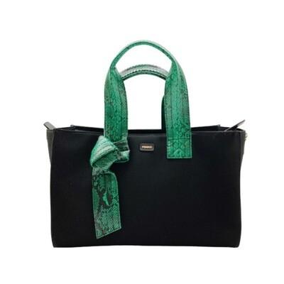 PINKO - Horizontal Medium Shopping - Black