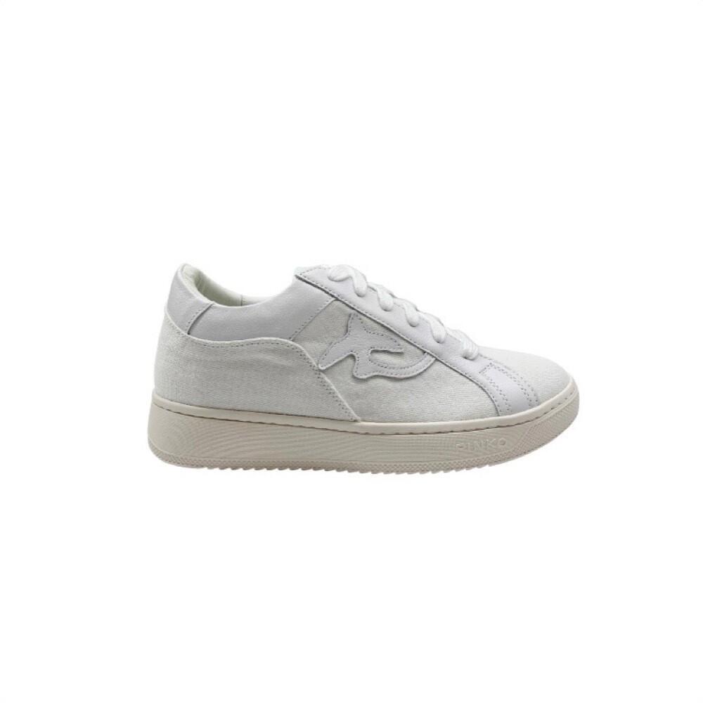 PINKO - Liquirizia Sneakers canvas - White