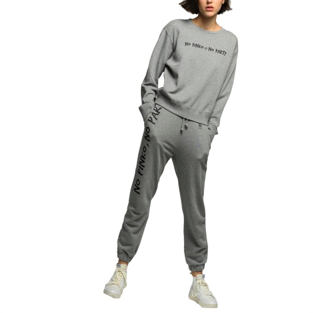 PINKO - Enologia Joggers in felpa - Grey