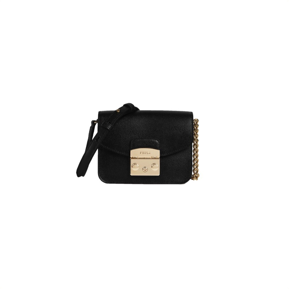 FURLA - Metropolis Mini Crossbody - Nero
