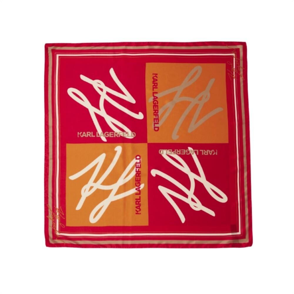 KARL LAGERFELD - K/Autograph Foulard - Red
