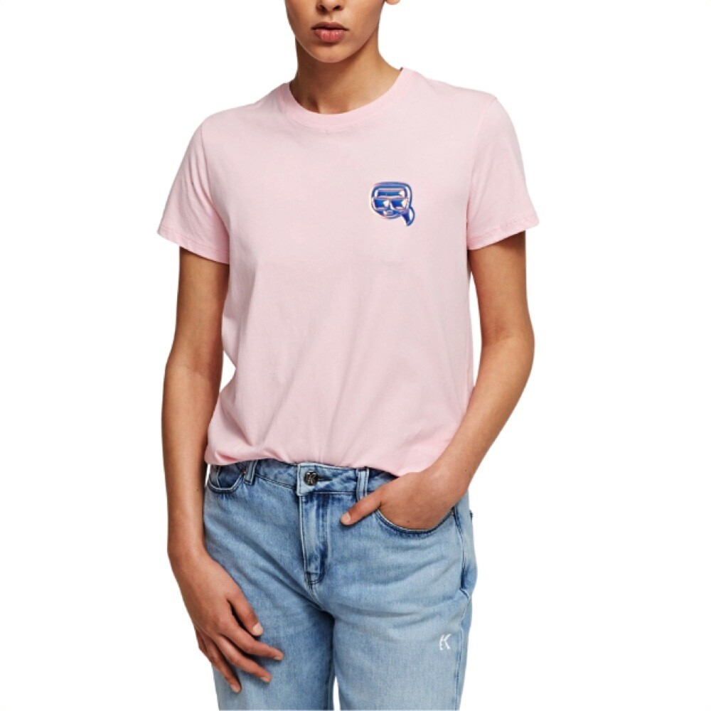 KARL LAGERFELD - T-shirt mini ikonik Karl balloon - Pink