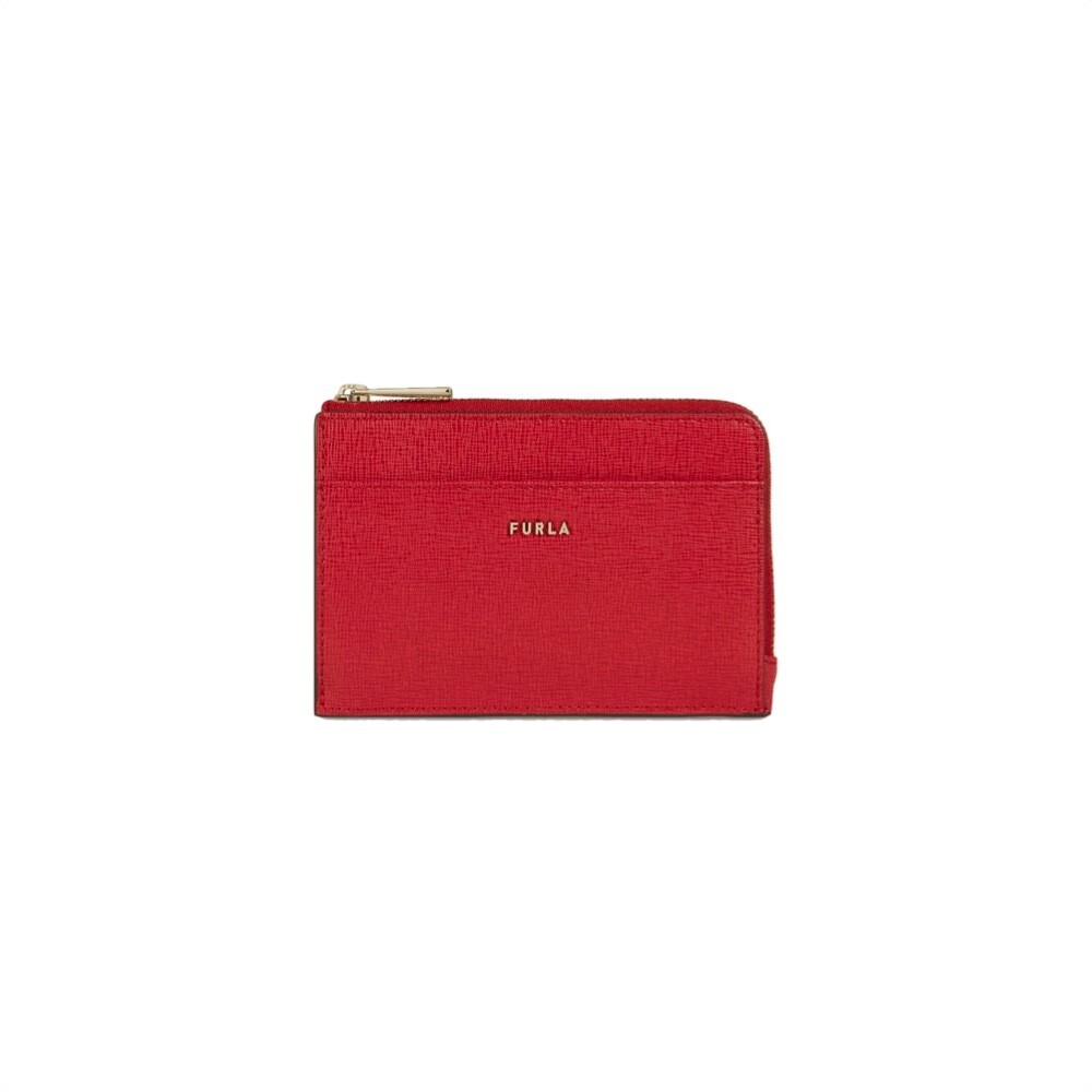 FURLA - Babylon M Credit Card Case - Ruby