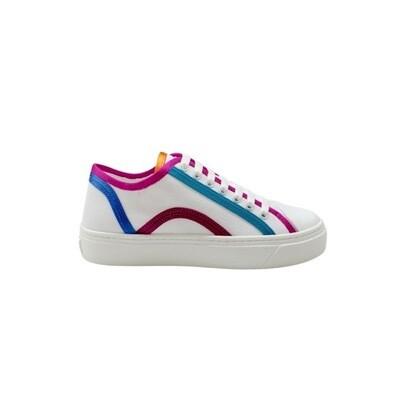 FURLA - Binding Sneakers - Talco/Multicolor