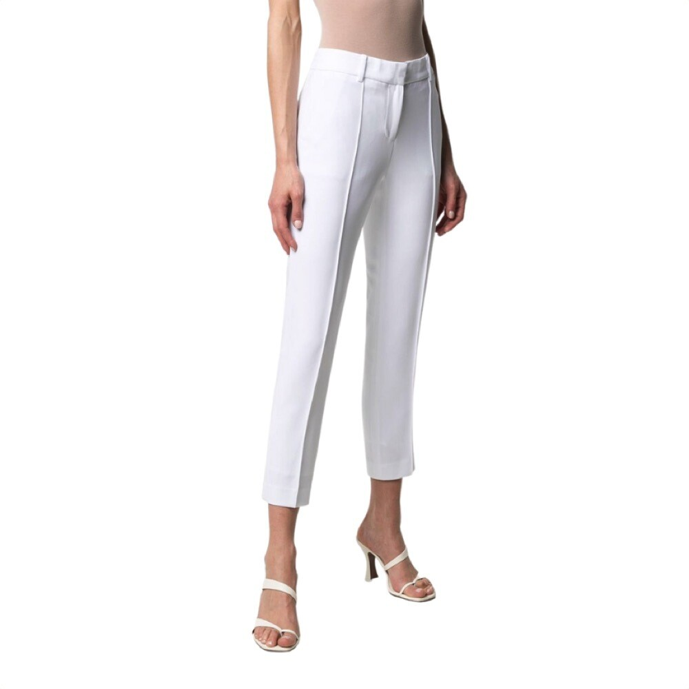 MICHAEL KORS - Pantaloni in crêpe - White