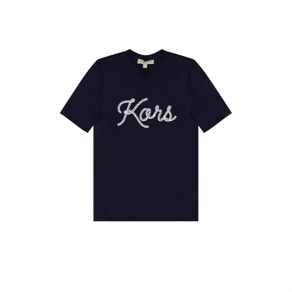 MICHAEL KORS - T-shirt Graphic - Midnight Blue