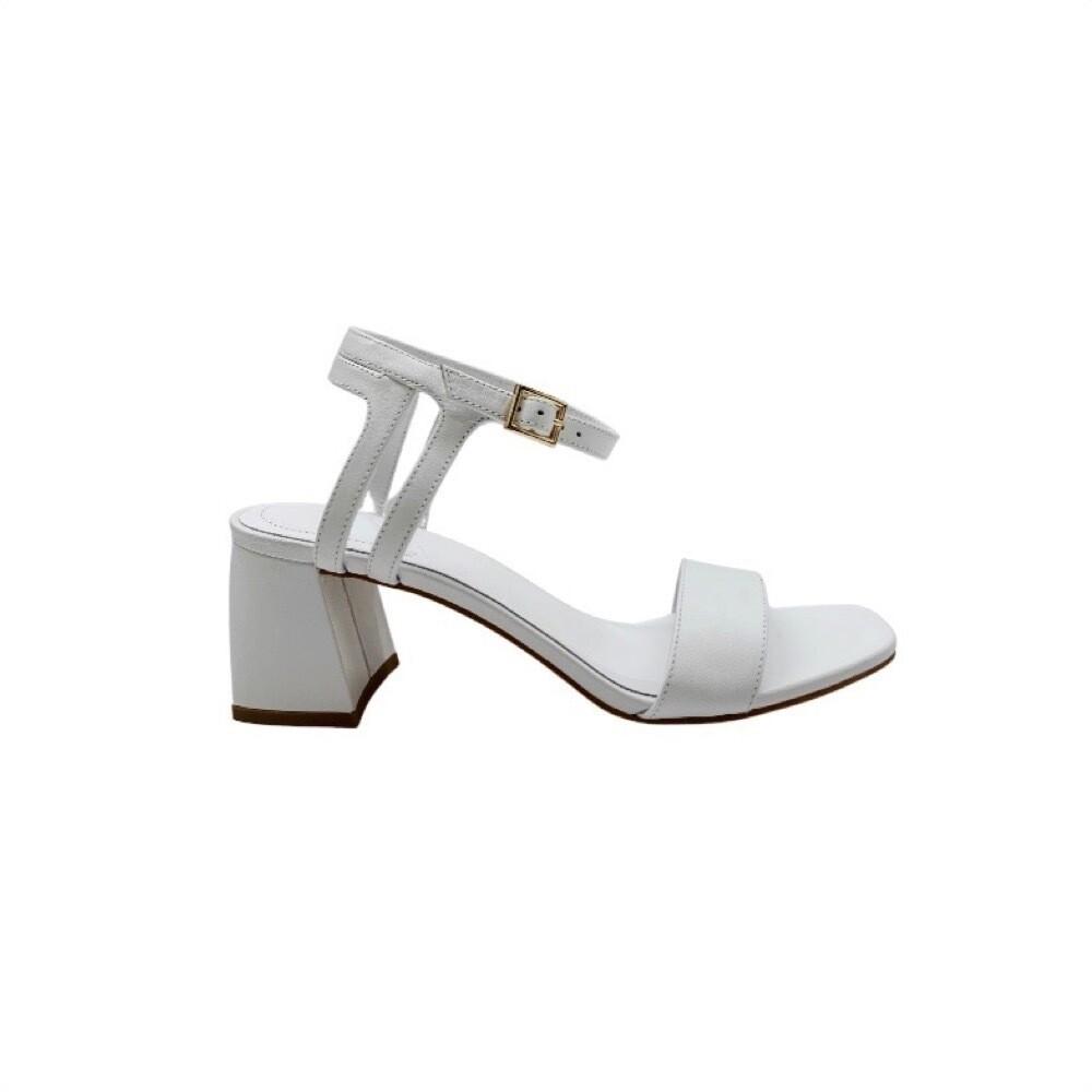 WHAT FOR - Evie sandalo - White