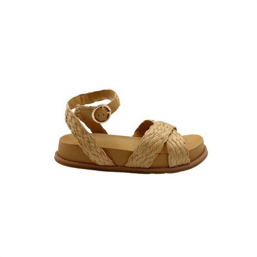 WHAT FOR - Coral sandalo - Gold/Camel