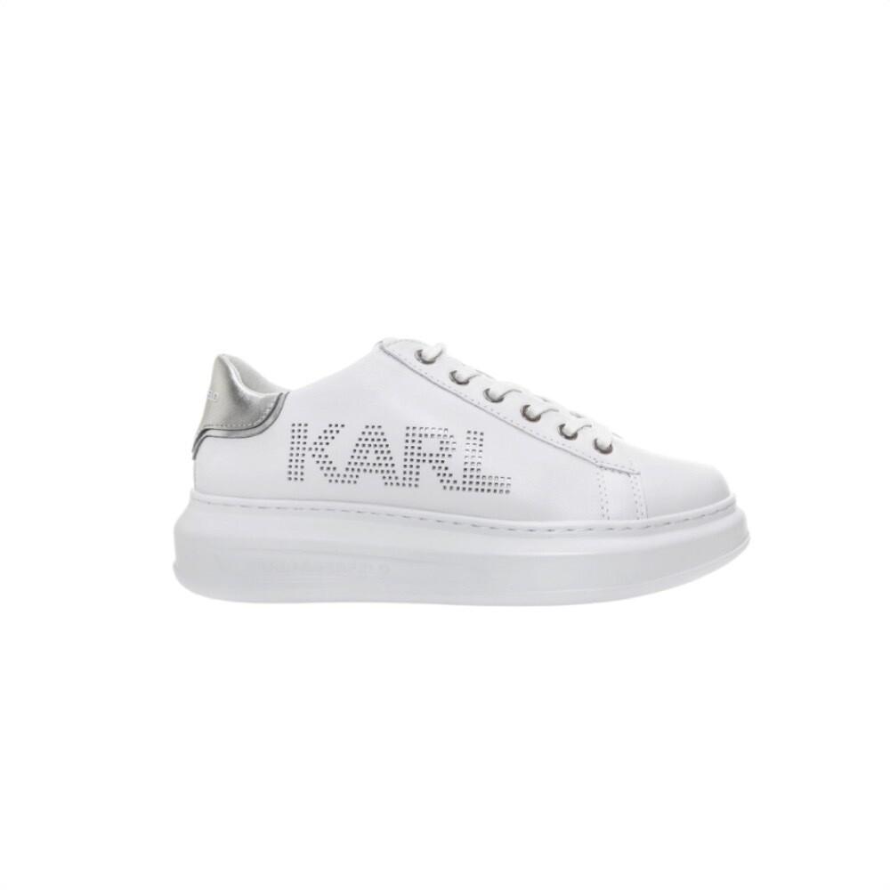KARL LAGERFELD - K/Ikonik Sneakers Kapri Logo - White
