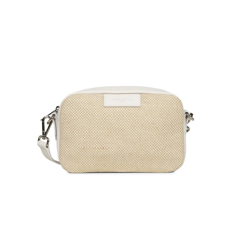 LANCASTER - Actual Midi Camera Bag - Ecru