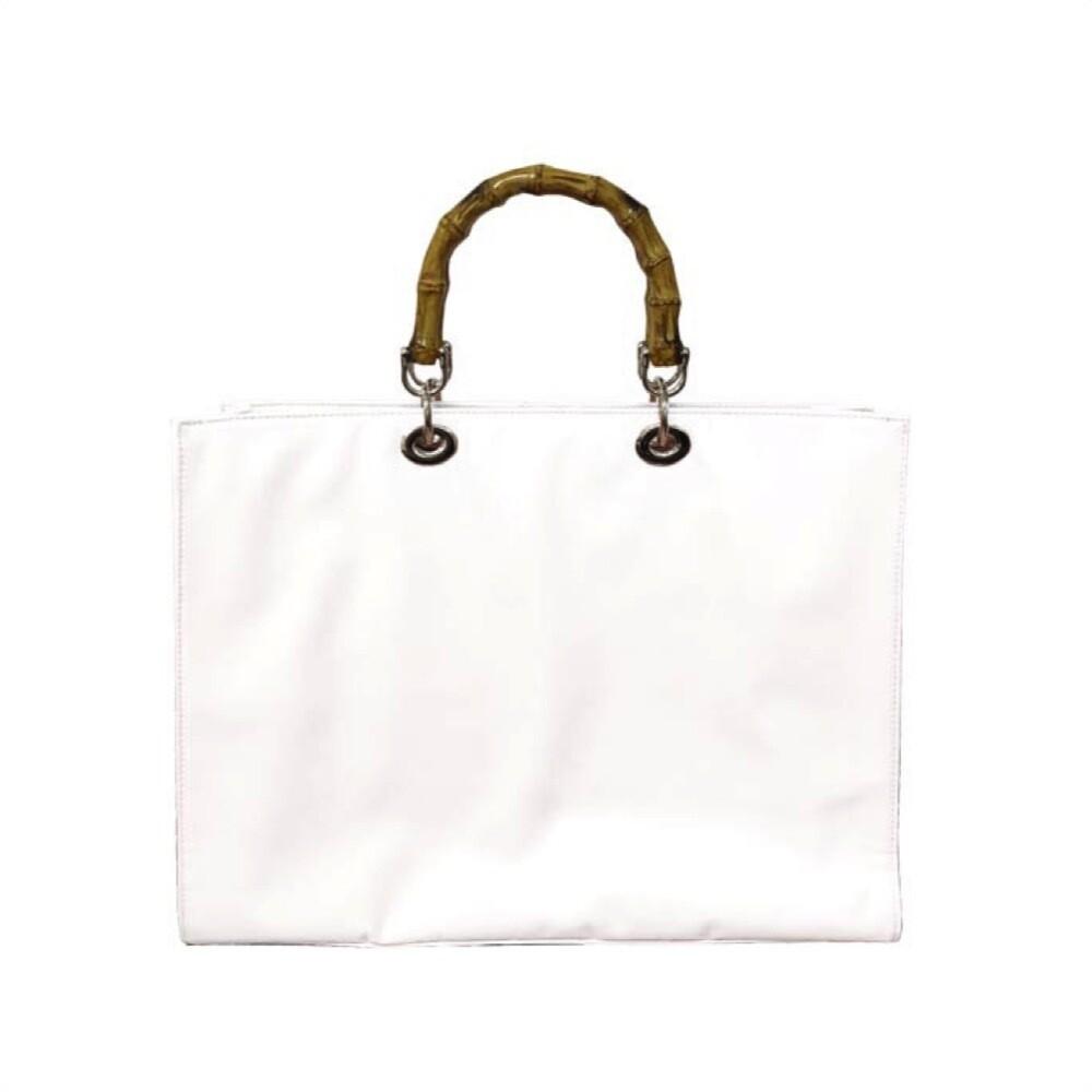 MIA BAG - Tote Bag Nylon - Bianco