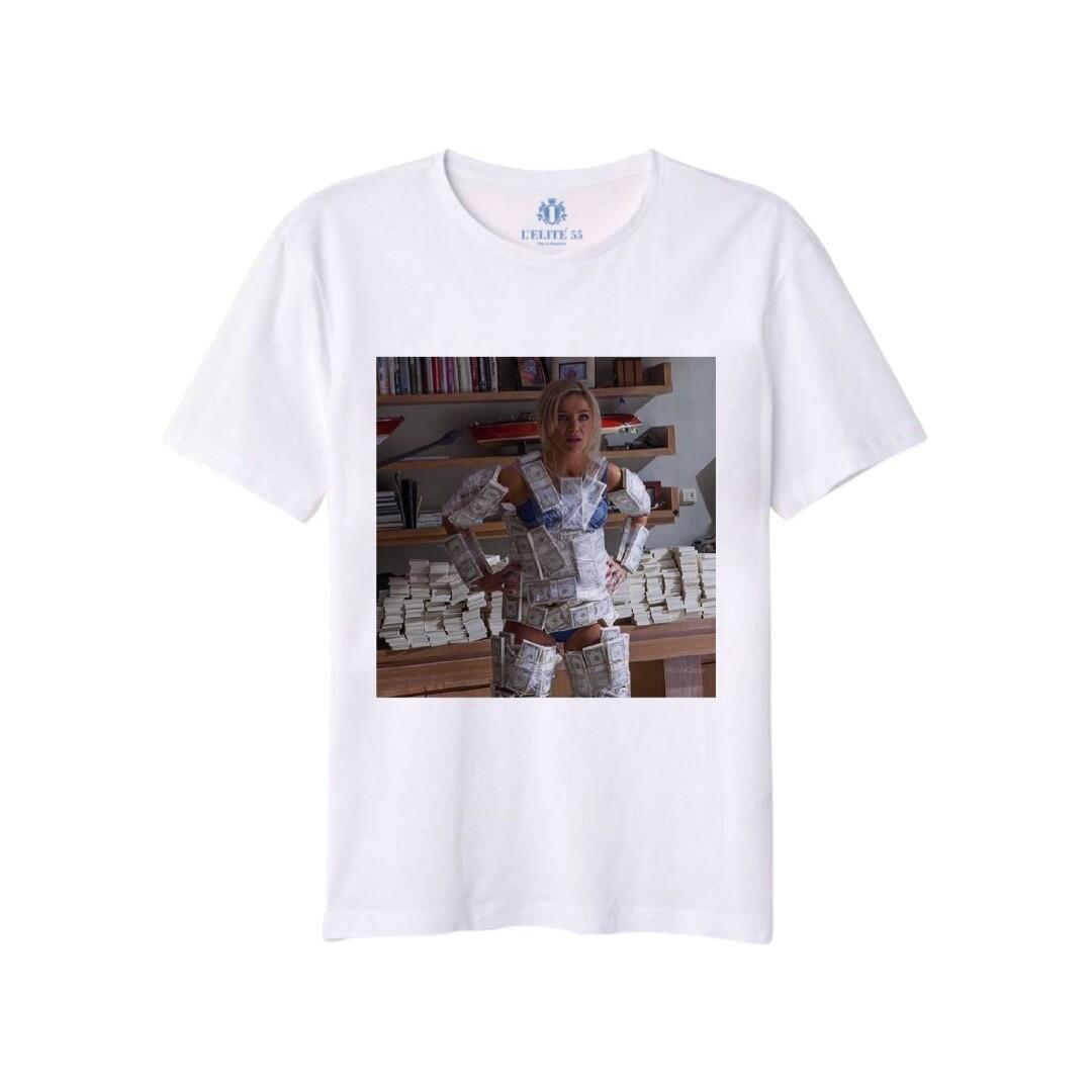 L'ELITÉ 55 - T-shirt stampa Kendall - Bianco